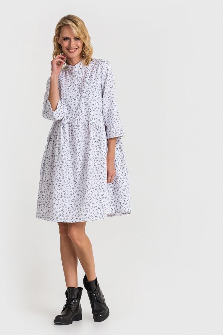 Платье-рубашка на весну
