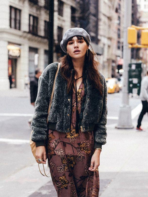 Берет и уличная мода