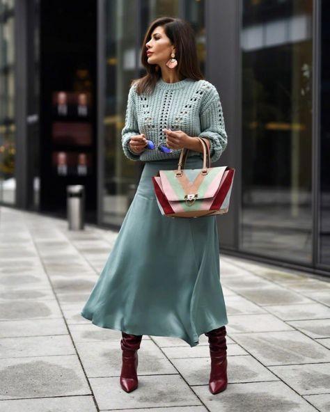 Модная женщина