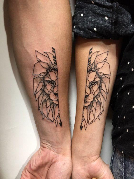 Оригинальные тату для двоих