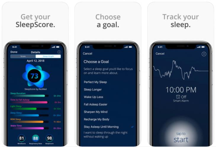 приложение для сна слип скор