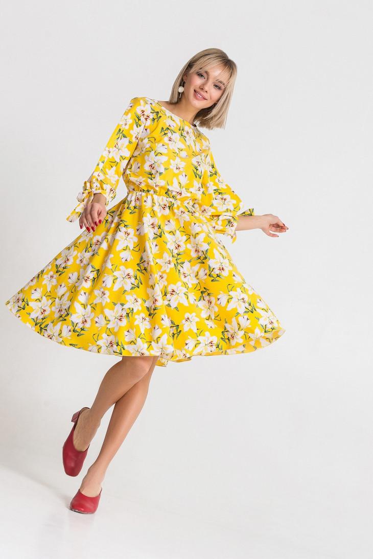 Стильное весеннее платье от Vovk