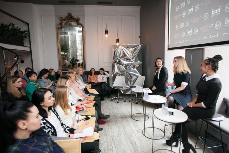 бьюти-бранч в честь открытия бутика Missha в Украине