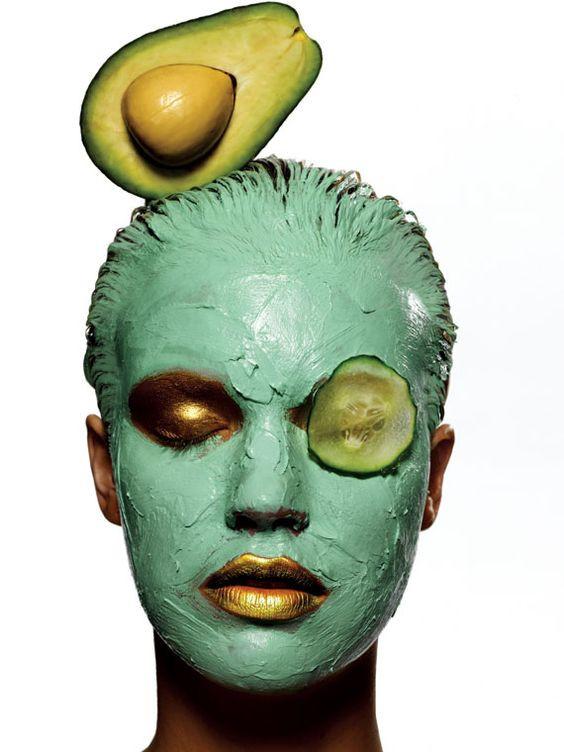 маска из авокадо и оливкового масла