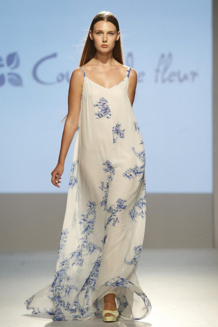 Цветочное платье от бренда Couture de Fleur