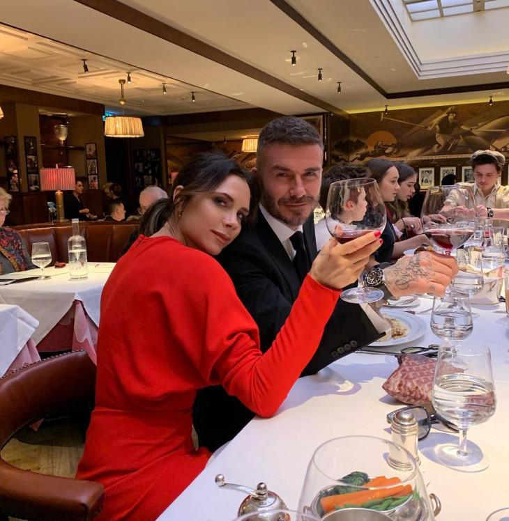 Виктория и Дэвид Бекхэмы