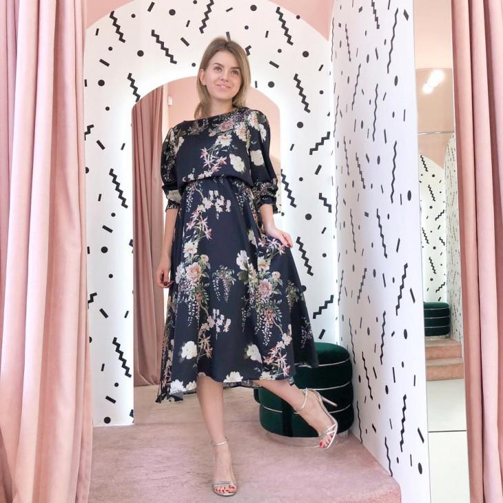 Цветочное платье на 8 марта от украинского бренда