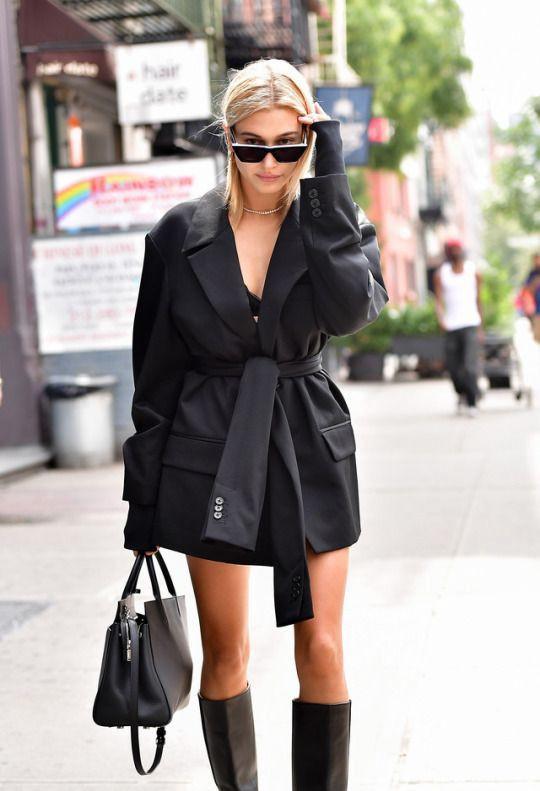 широкий пиджак