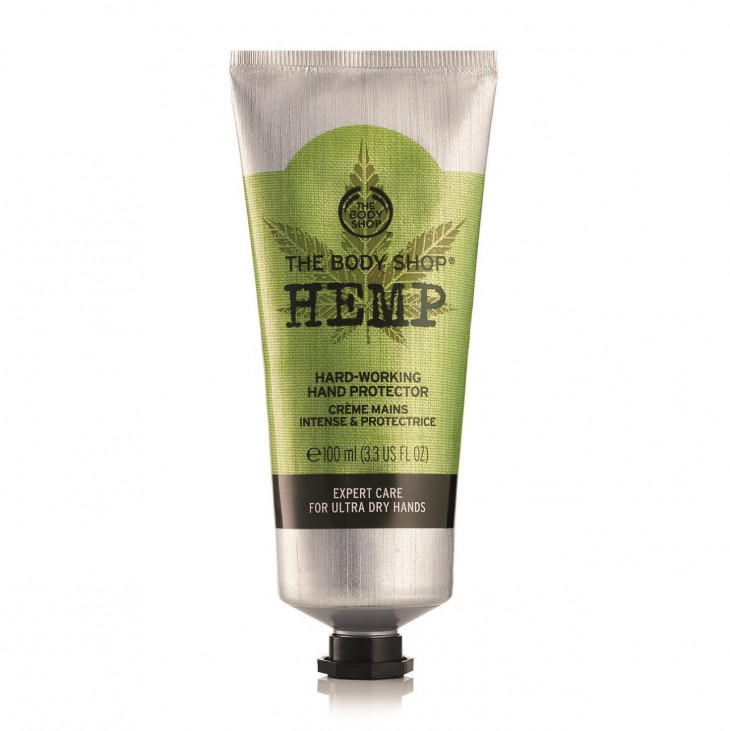 Крем для рук The Body Shop Hemp Hard-Working Hand Protector