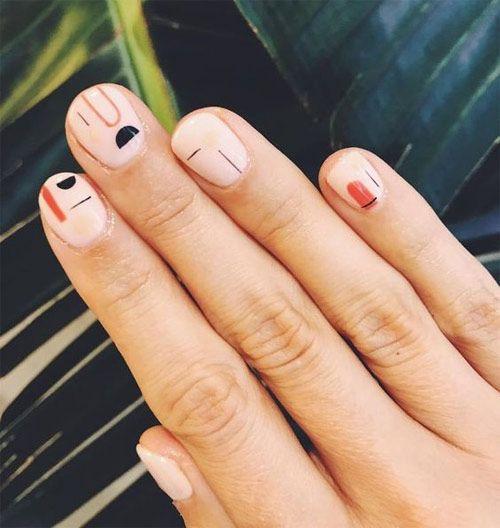 минимализм ногти