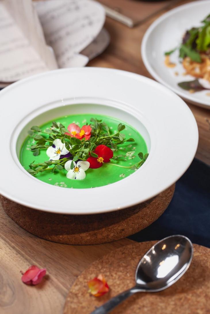 Зеленый суп ZELYONKA
