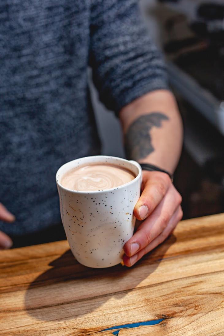 Кофе на растительном молоке
