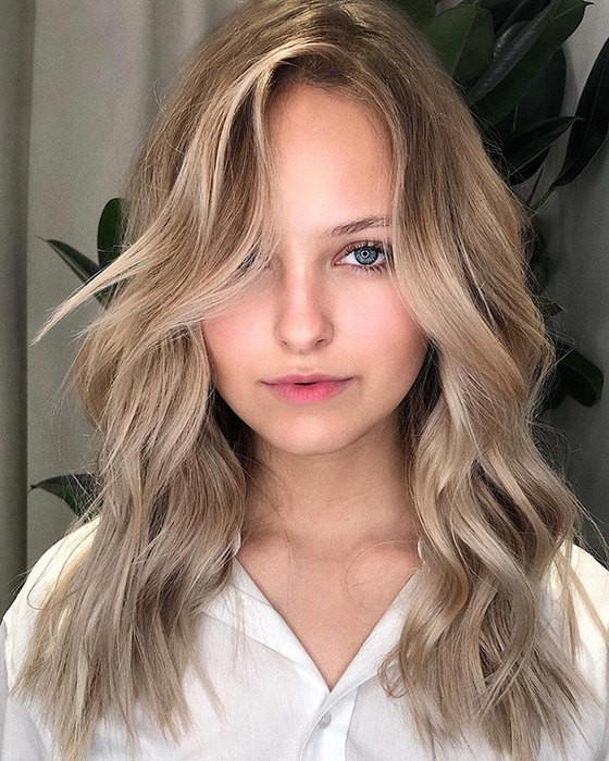 Контуринг для русых волос