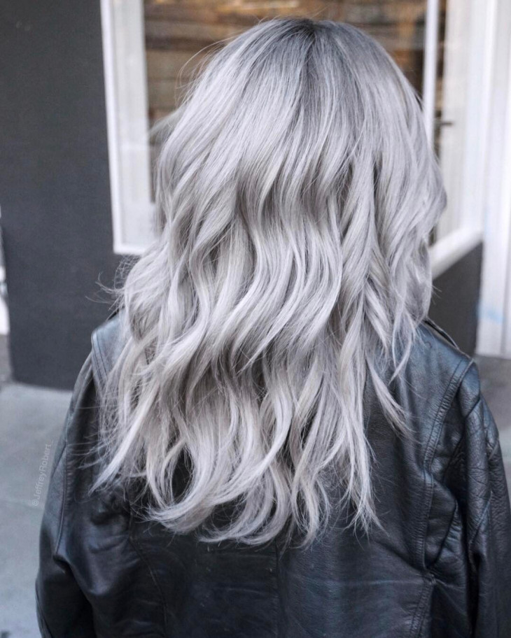 Цвет волос пепельный блонд