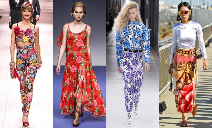 Модные принты 2019