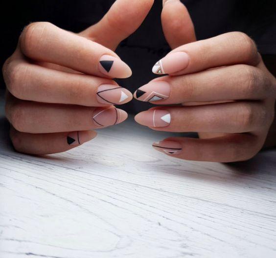 ногти геометрия