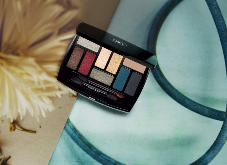 Тени Chanel Vision D'asie: L'art Du Détail Makeup Collection 2019