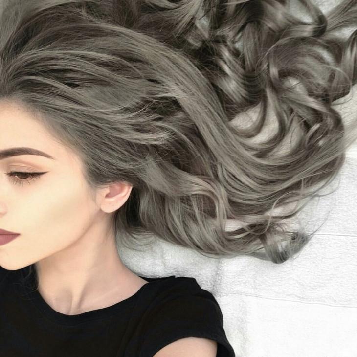 Пепельное окрашивание волос