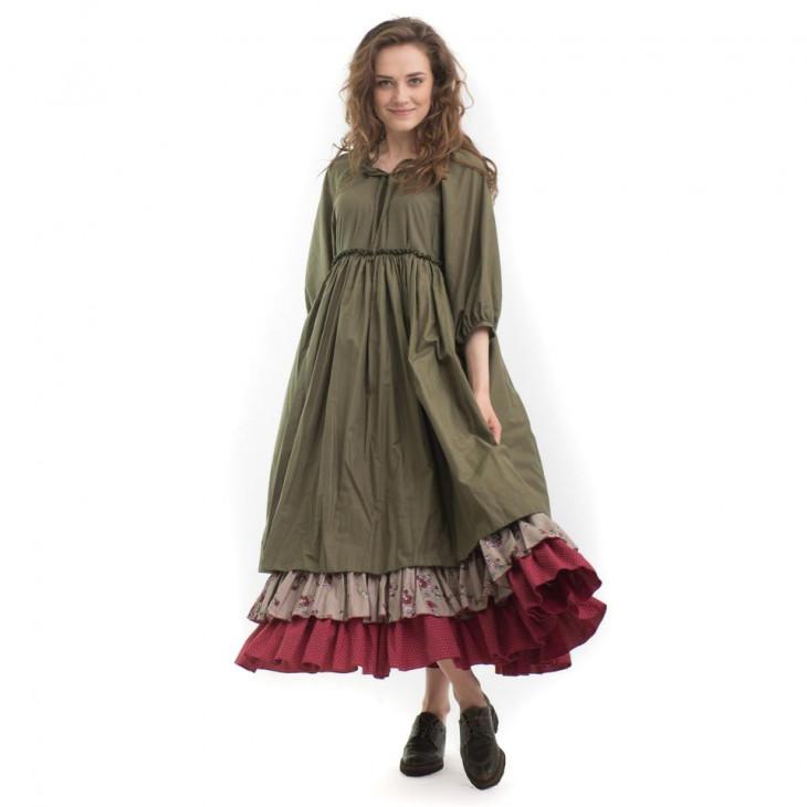 Стильное весеннее платье в стиле бохо