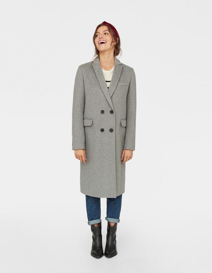 stradivarius пальто