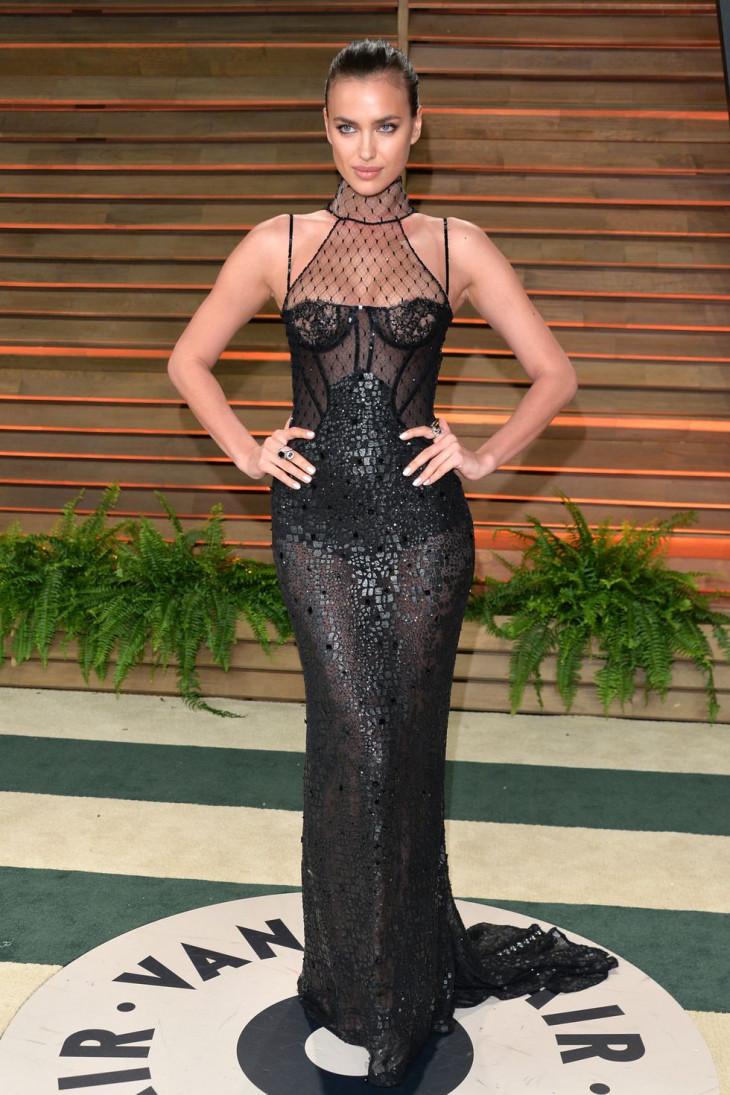 Ирина Шейк на вечеринке Оскар 2014