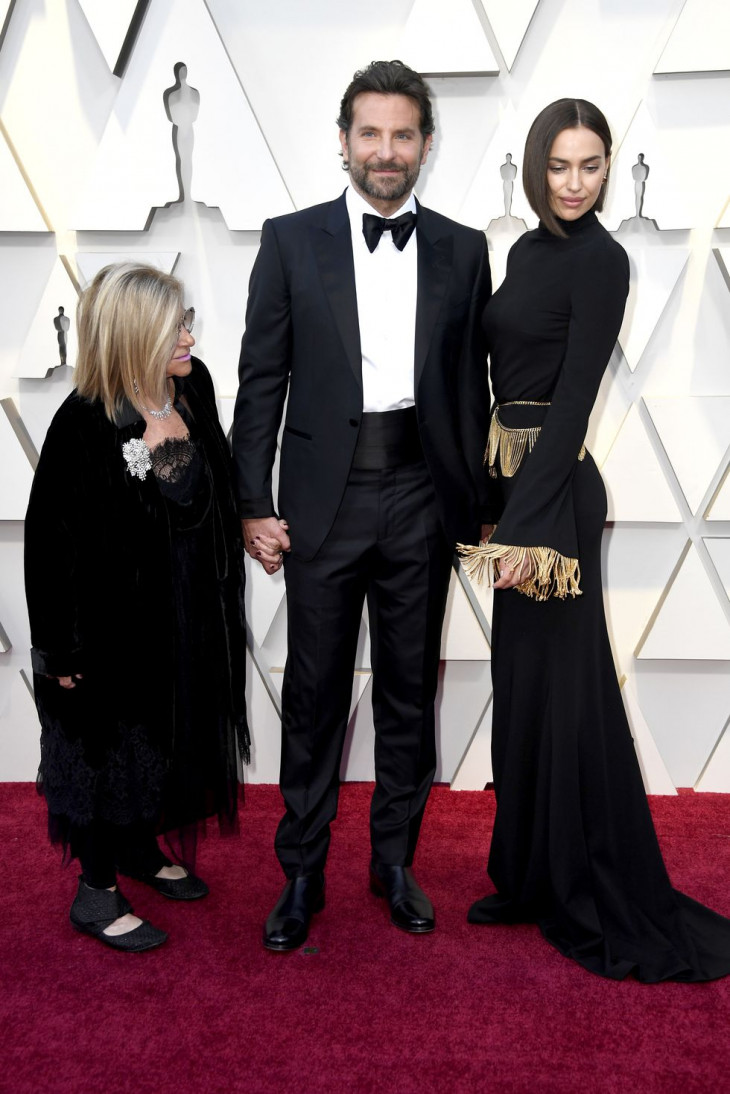 Ирина Шейк и Брэдли Купер на церемонии Оскар 2019