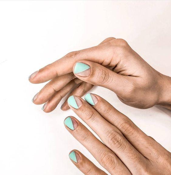 Голые ногти маникюр