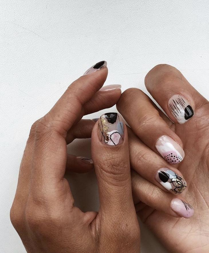 Оригинальный дизайн ногтей 2019