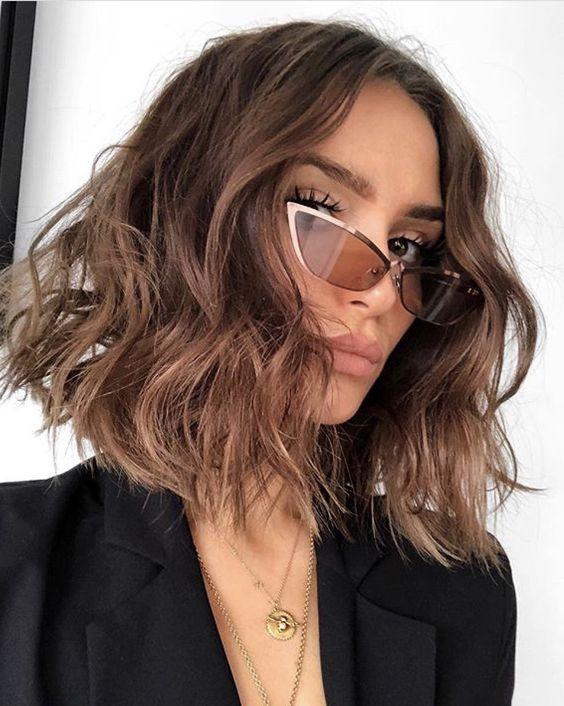 Стильные очки на девушке