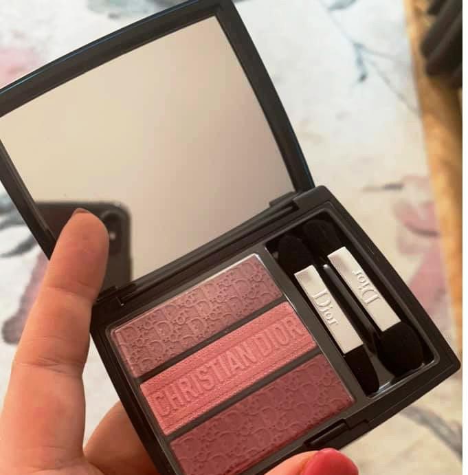 Dior Show Tri (o) Blique Eyeshadow Palette Spring Summer 2019