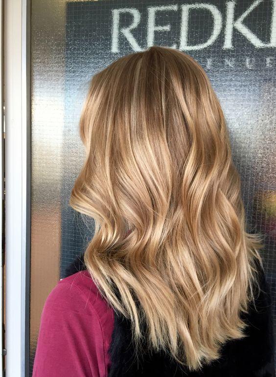 Карамельный блонд