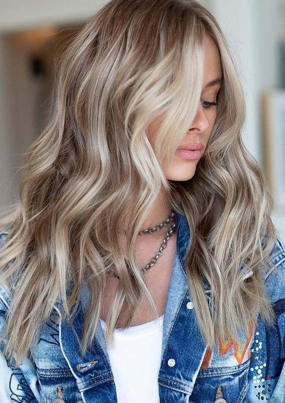 Колорирование для блондинок