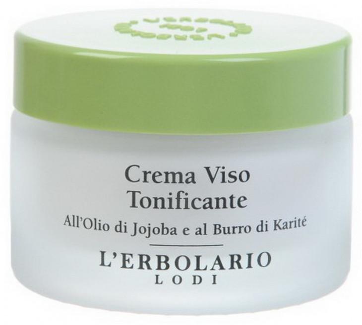Тонизирующий крем c маслом ши и жожоба от L'Erbolario