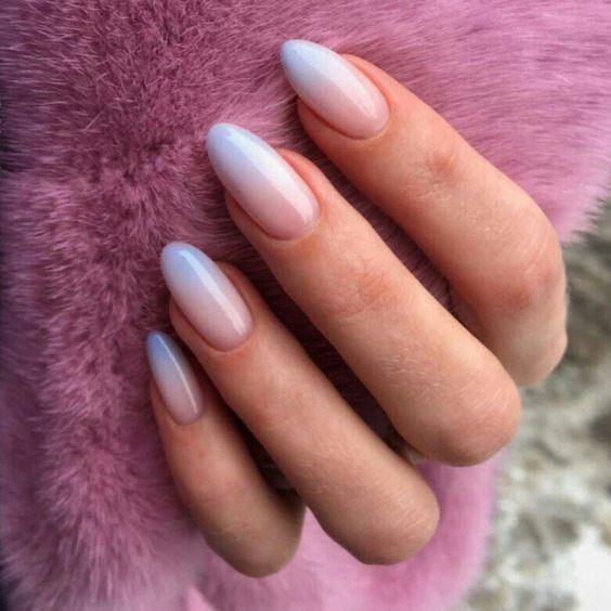 ногти градиент