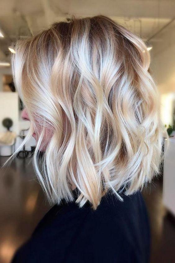 Балаяж для блондинок