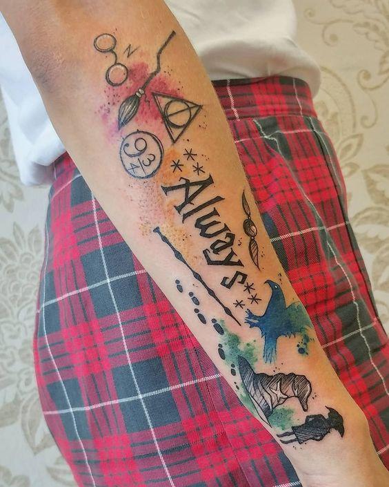 Татуировки из любимого фильма