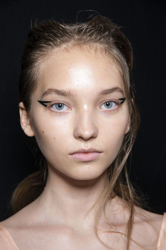 кошачий глаз макияж