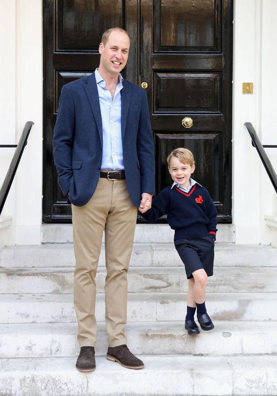 принц Джордж и Уильям