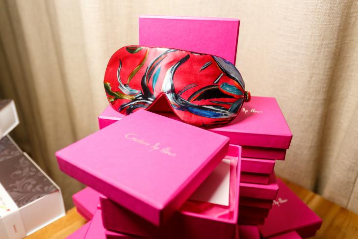 шелковые маски для сна Couture de Fleur