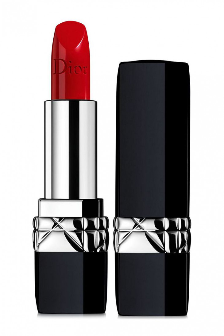 Dior Rouge Dior Lipstick, оттенок 999 Satin
