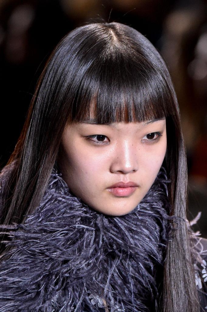 Модная челка 2019