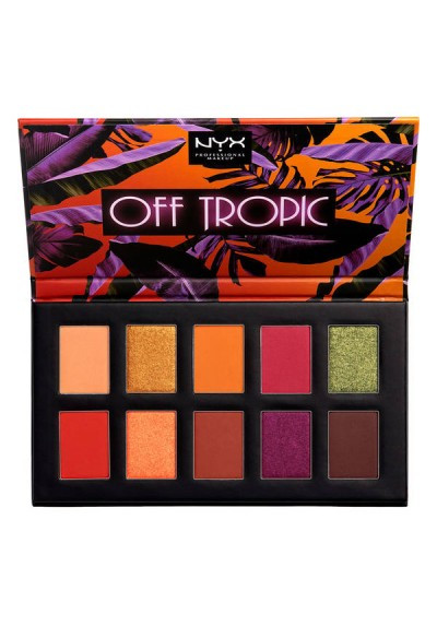 NYX Off Tropic Shadow Palette