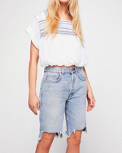 Джинсовые шорты на лето