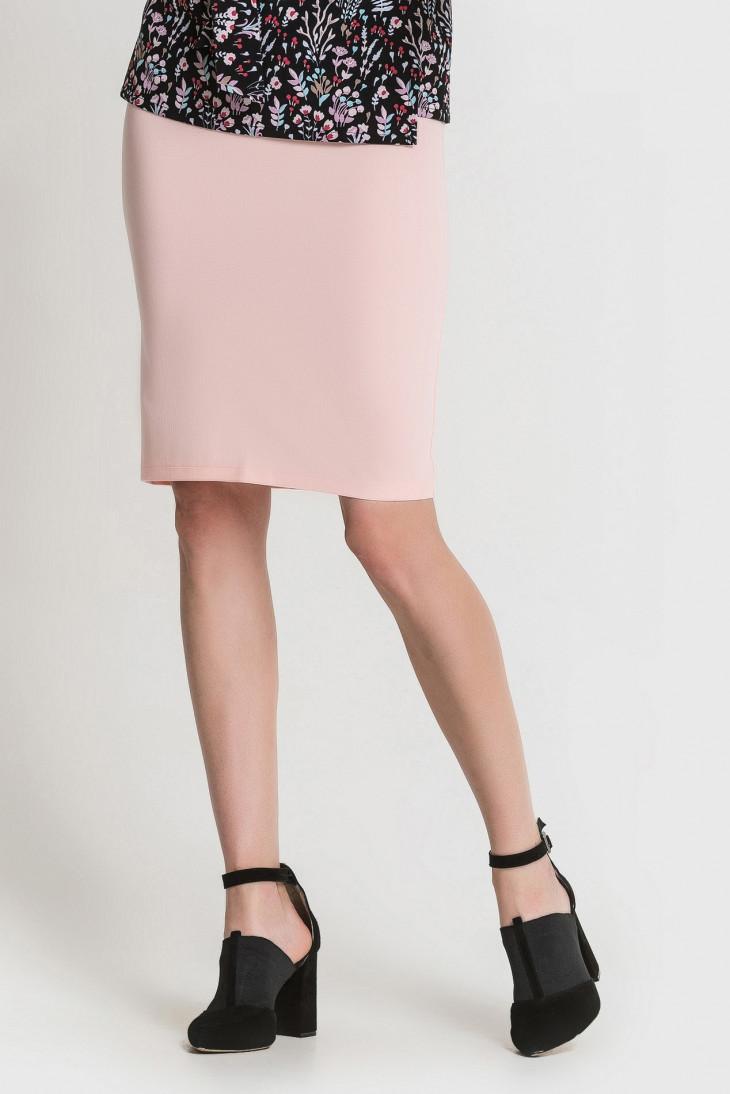 Пудровая юбка-карандаш от Vovk