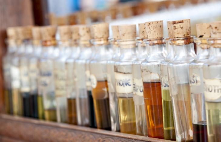 Ингредиенты для создания нишевого аромата