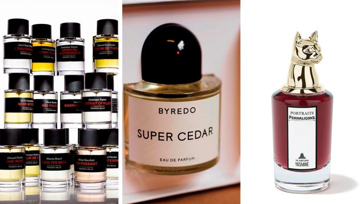 Селективная парфюмерия, бренды