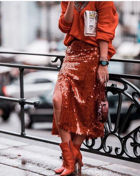 оранжевый образ