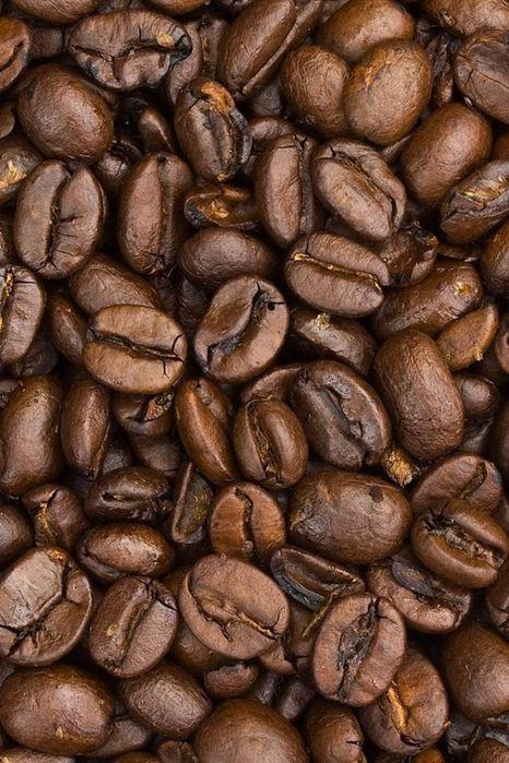 кофейные зерна вблизи