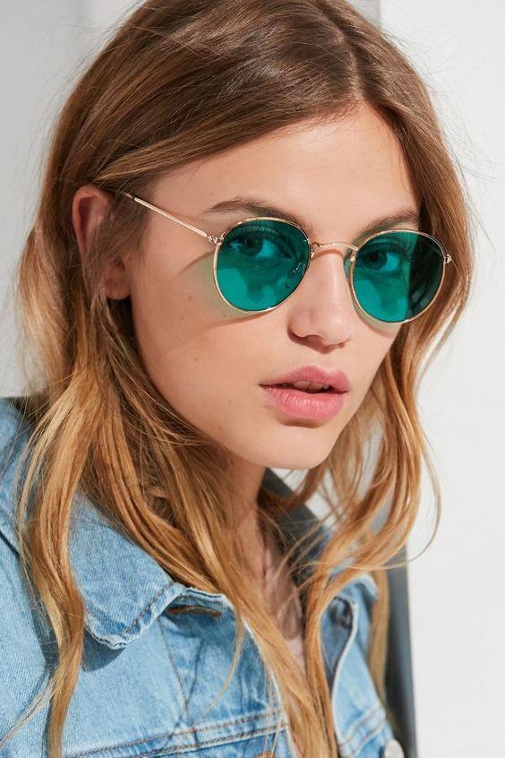 Солнцезащитные хиппи-очки 2019