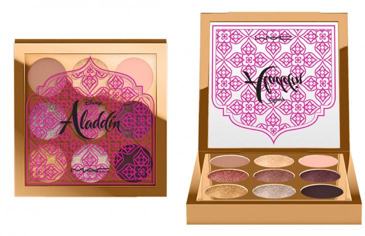 MAC x Disney Aladdin Makeup Collection